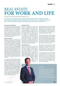 Real Estate for Work and Life | Embassy Desk Russell Advocaten